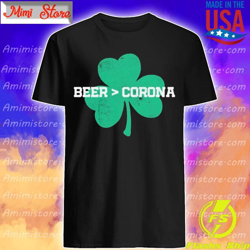 Beer Corona Saint Patrick's Day shirt