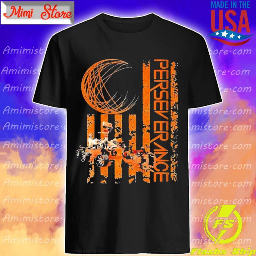 American Flag Perseverance Nasa Mars shirt