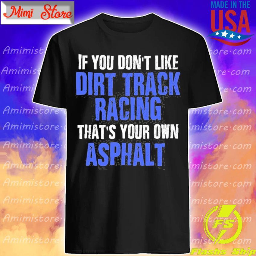 Dirt track racing modified racing sprint car racing shirt