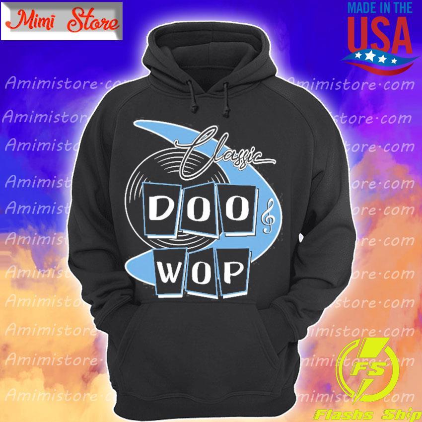Doo wop 50s rockabilly clothing retro sock hop Hoodie