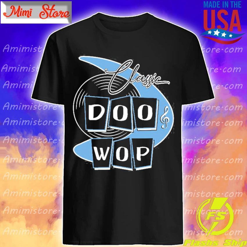 Doo wop 50s rockabilly clothing retro sock hop shirt