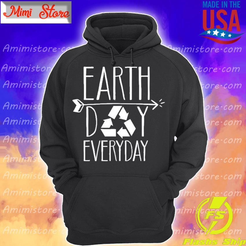 Earth day everyday 51th anniversary cute recycling teacher Hoodie