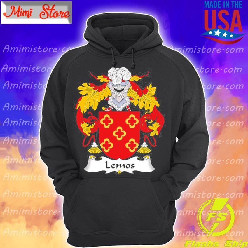 Lemos coat of arms family crest Hoodie