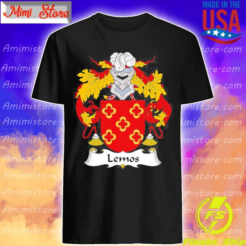 Lemos coat of arms family crest shirt