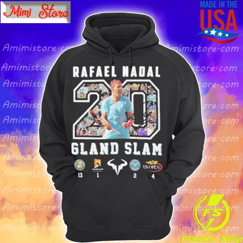 Official Rafael Nadal Grand Slam 20 Hoodie