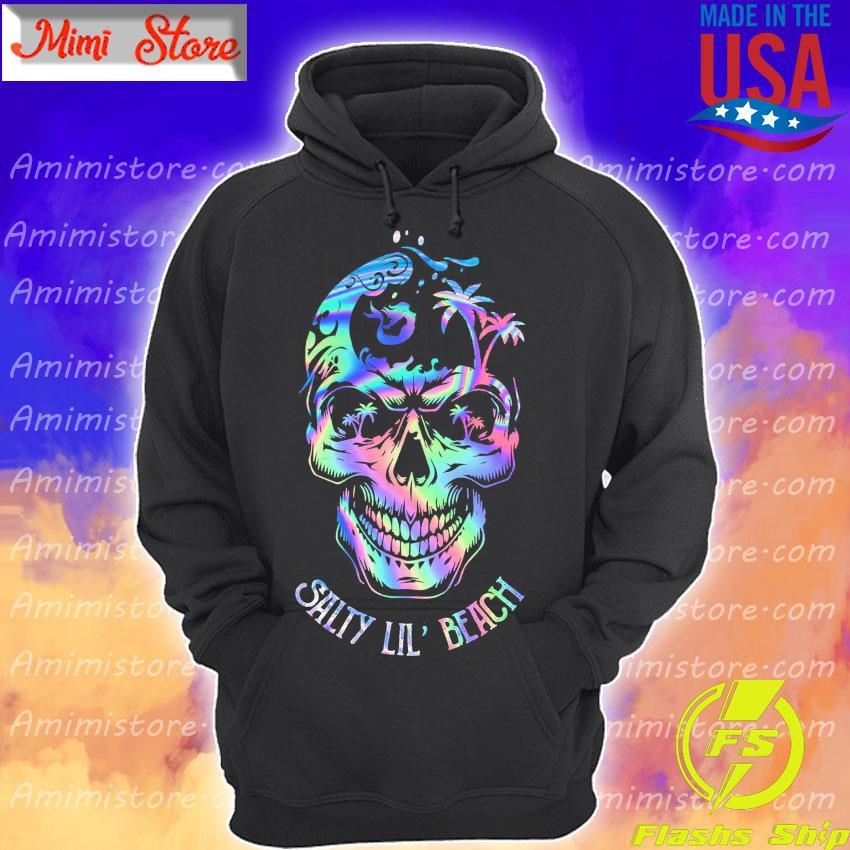 Sugar Skull Salty Lil' Beach Hoodie