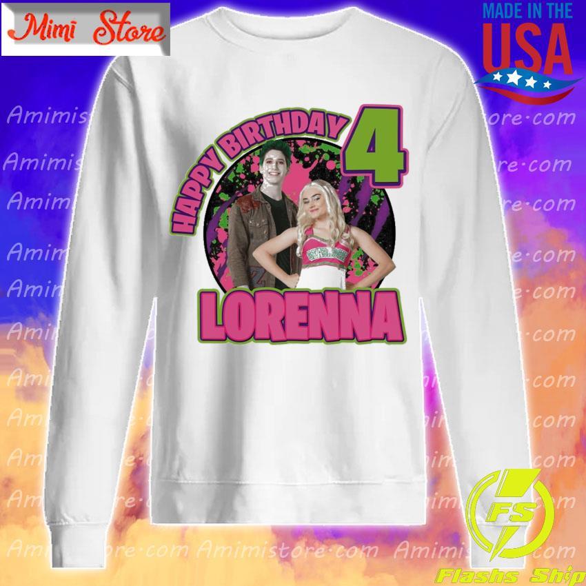Zombies Happy Birthday 4 Lorenna Sweatshirt