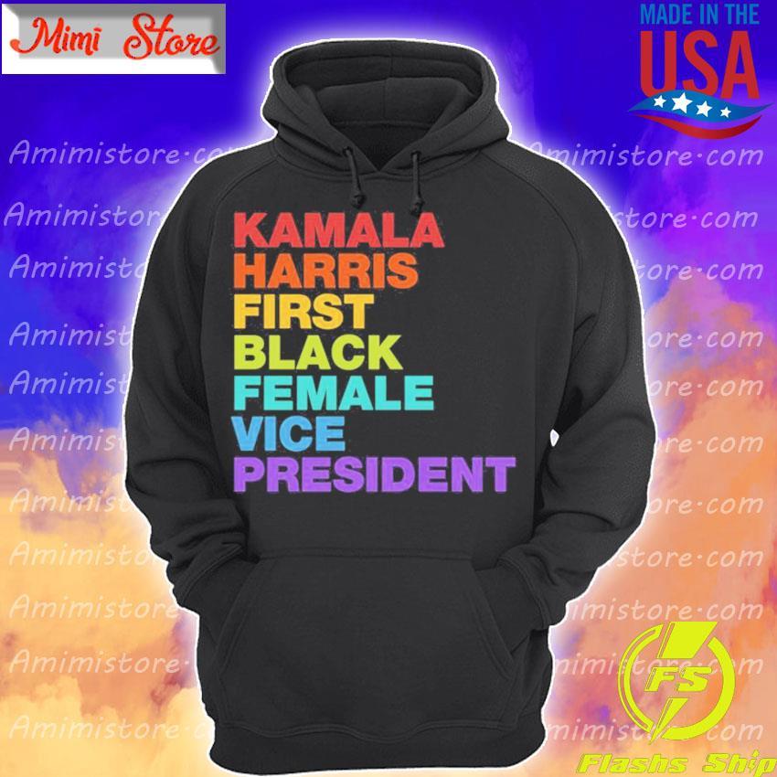 Kamala Harris First Black Female Vice President Retro Vintage Hoodie