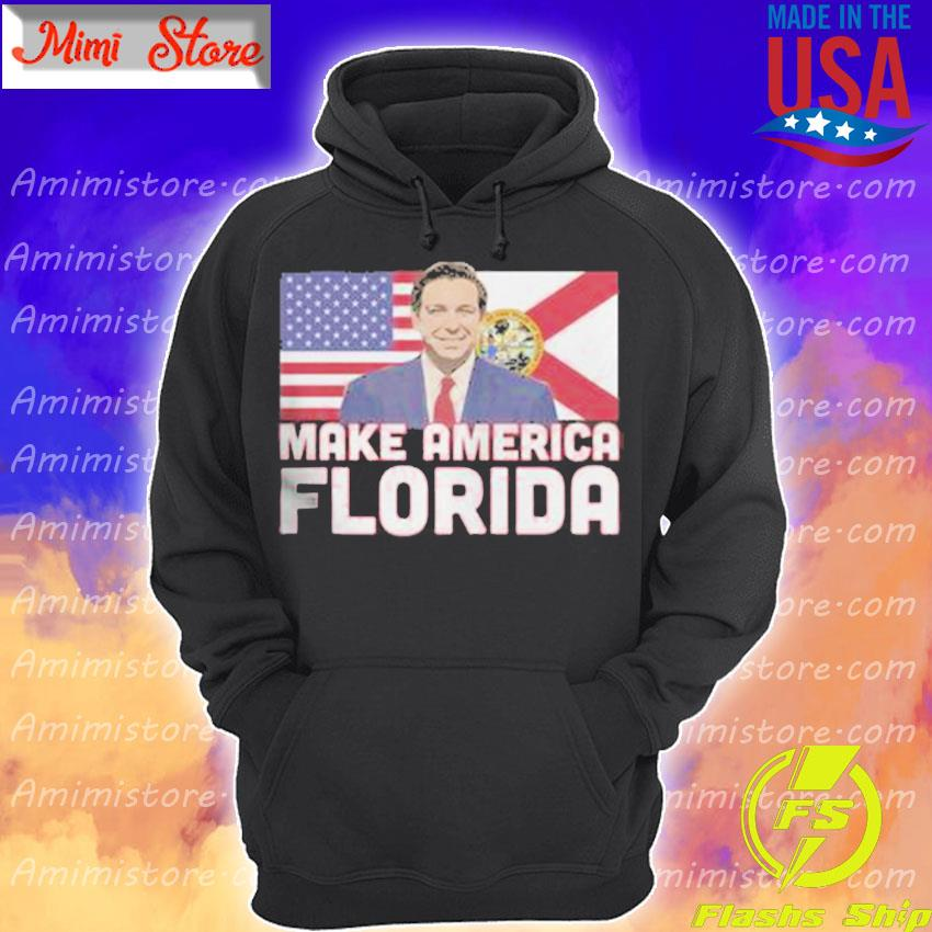 Official Make America Florida American flag Hoodie