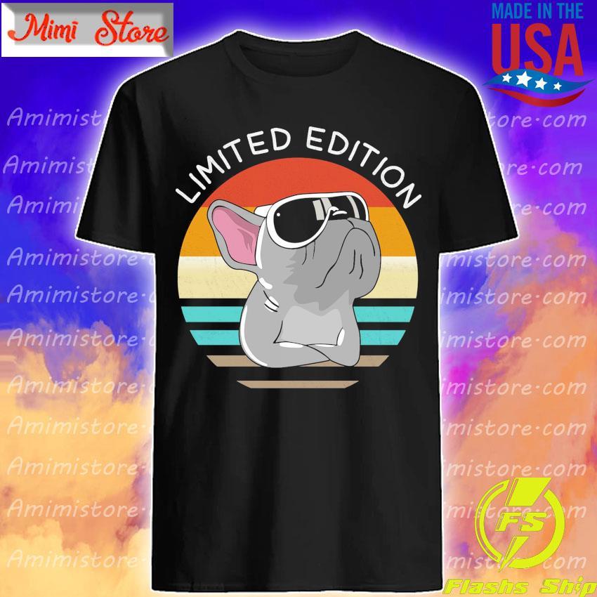 Pug Limited Edition vintage retro shirt