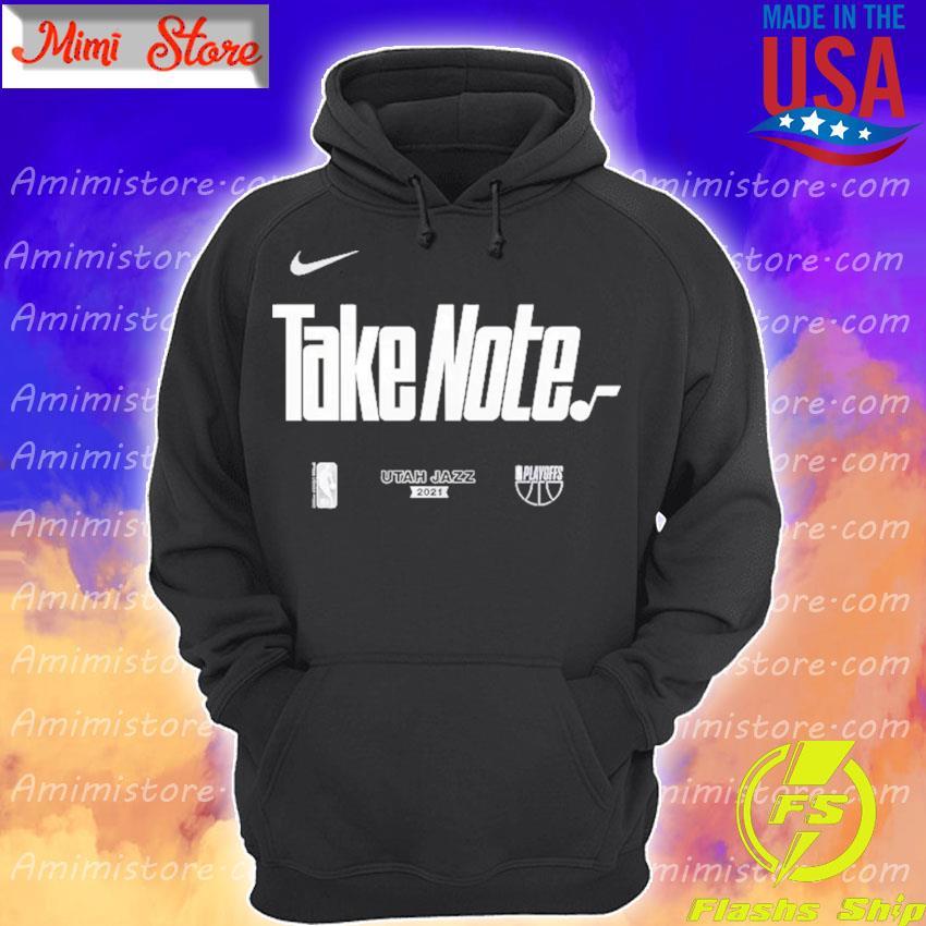 Utah Jazz Nike Youth 2021 NBA Playoffs Bound Mantra T-Shirt Hoodie