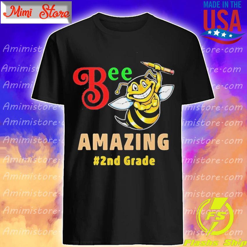 BEE AMAZING 2ND GRADE SHIRT