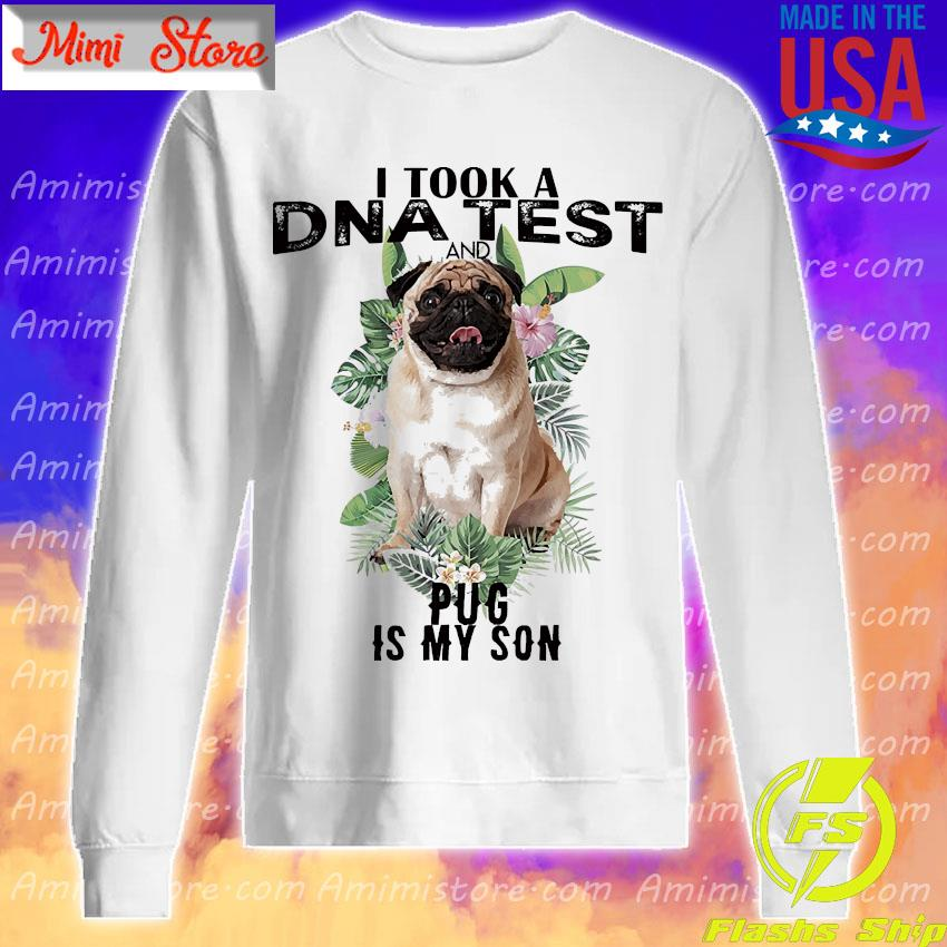 I took a dna test and Plug is my son s Sweatshirt