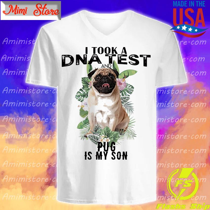 I took a dna test and Plug is my son s V-Neck