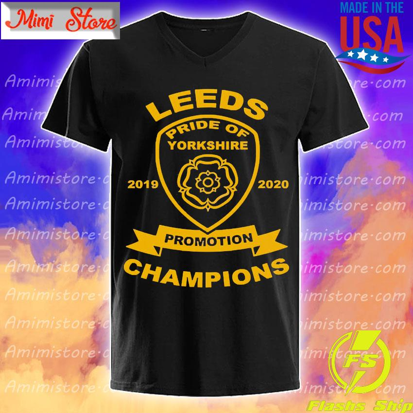 Leeds pride of yorkshire 2019 2020 promotion Champions s V-Neck