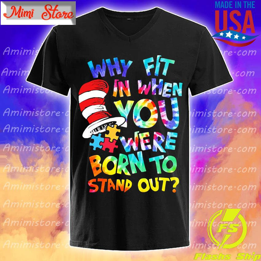 LGBT Why fit in when you were born to stand out s V-Neck