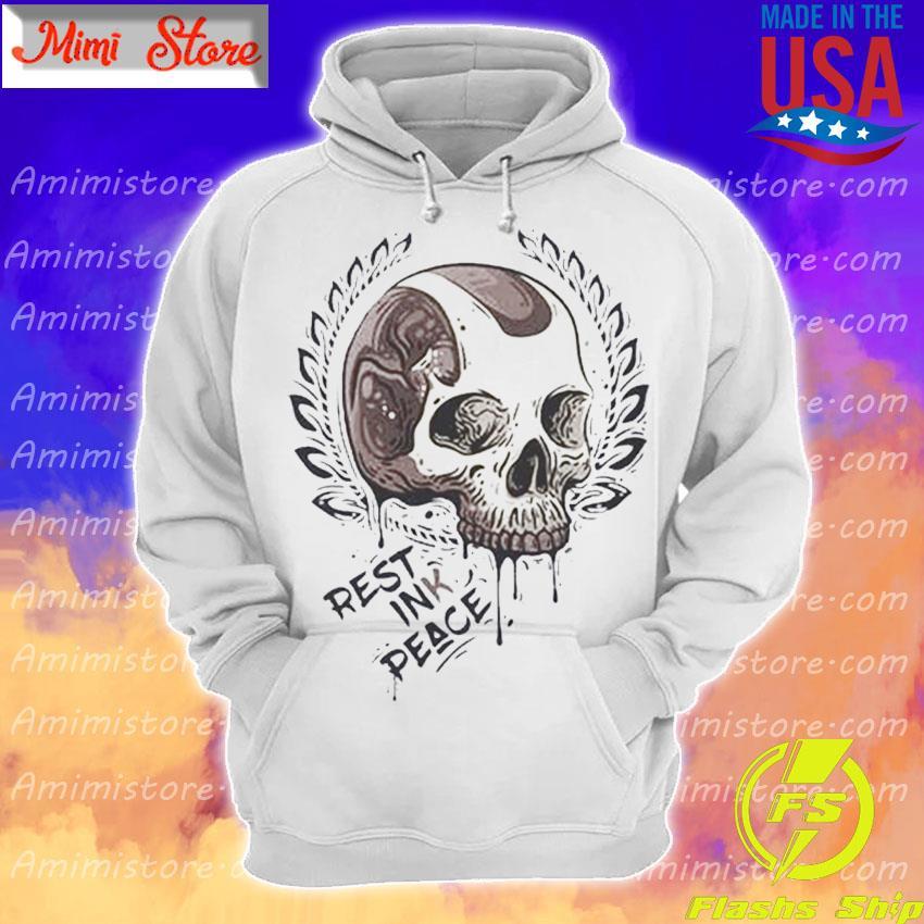 Skull Rest ink Peace s Hoodie