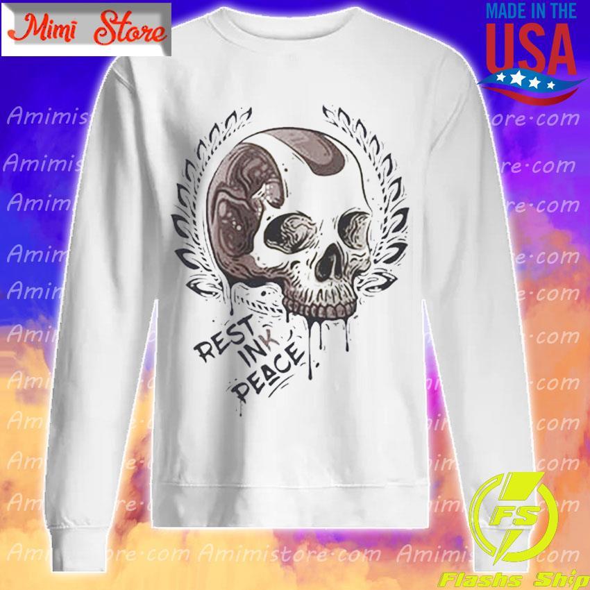 Skull Rest ink Peace s Sweatshirt