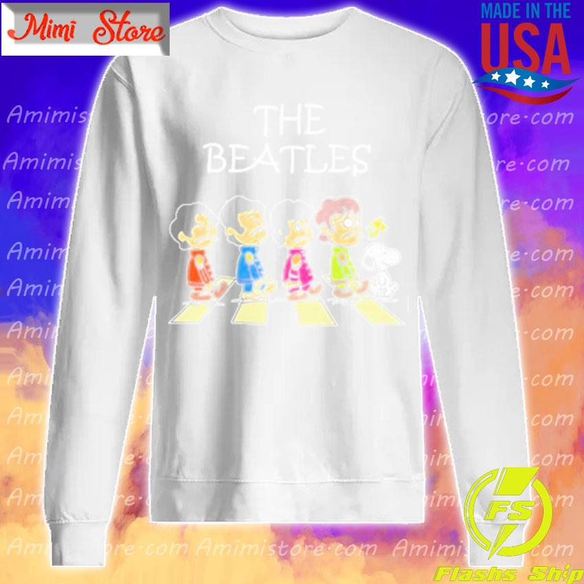 Snoopy and The Beatles s Sweatshirt
