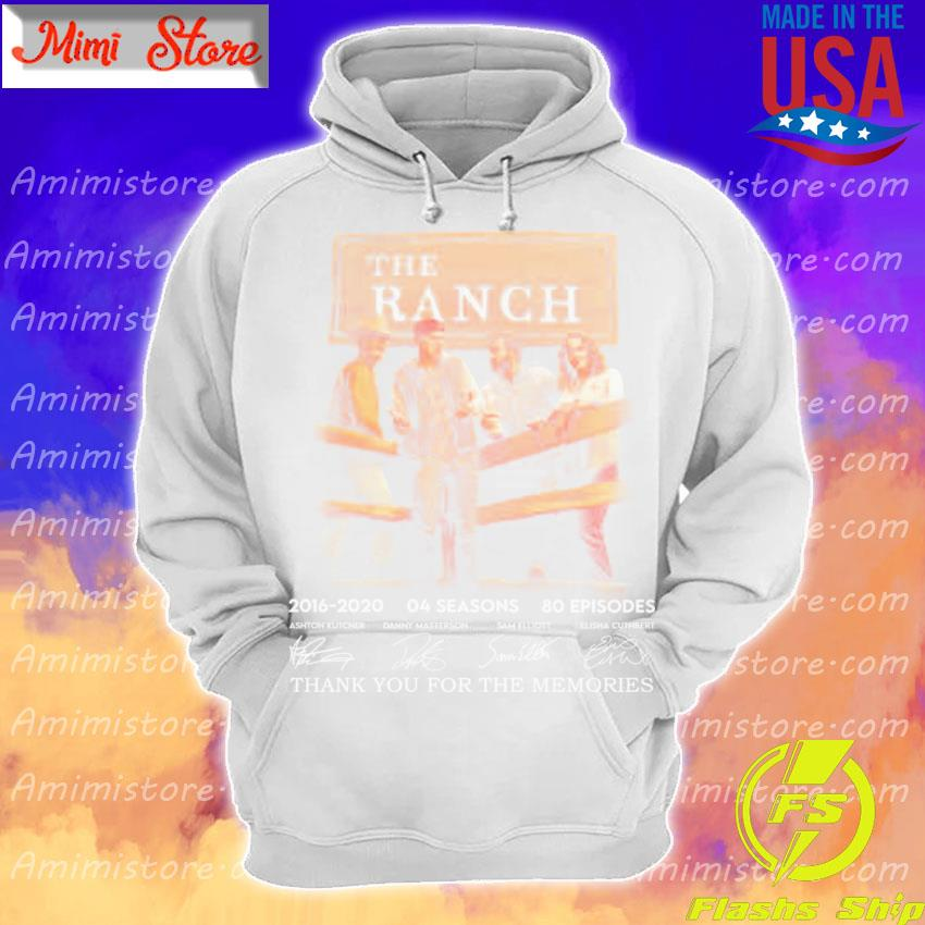 The Ranch 2016 2020 64 seasons 80 episodes thank you for the memories signatures s Hoodie