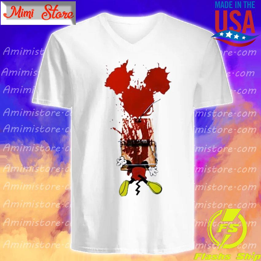 Mickey Mouse Trapped s V-Neck