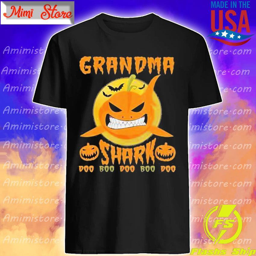 Pumpkin Shark Boo Boo Halloween shirt