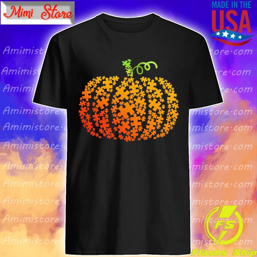 Autism Pumpkin shirt
