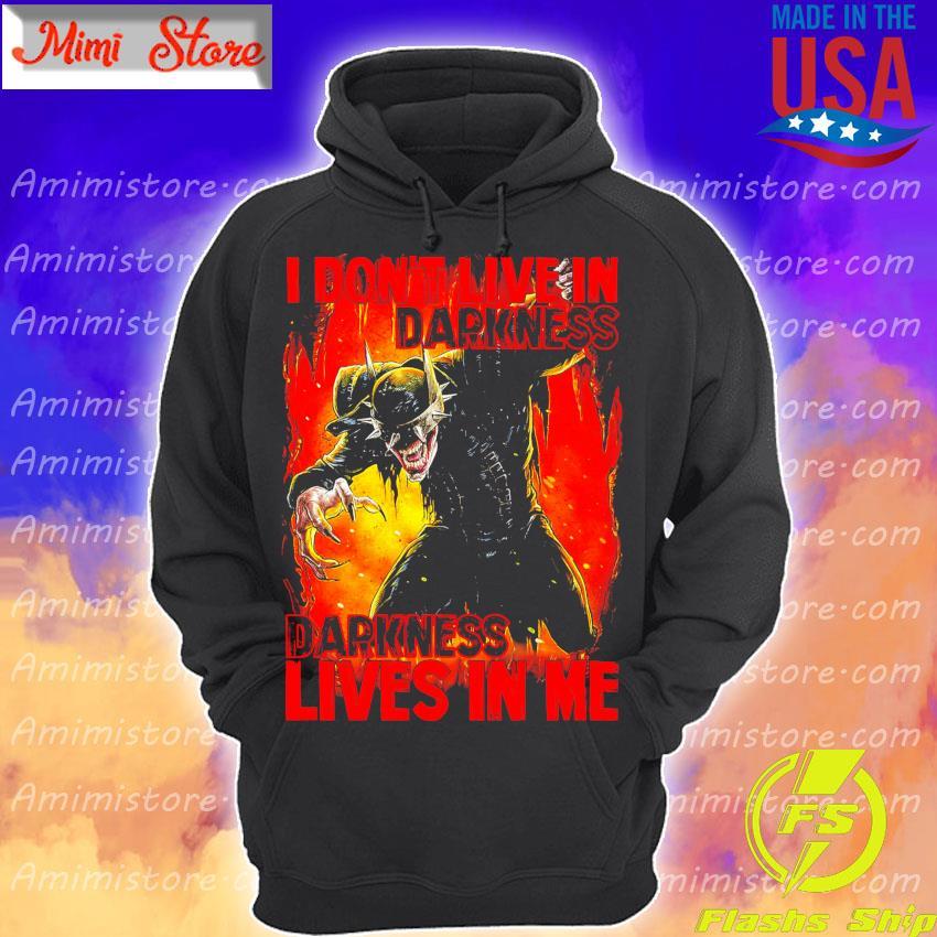 Dark Nights Death Metal Batman I don't live in Darkness Darkness lives in Me s Hoodie