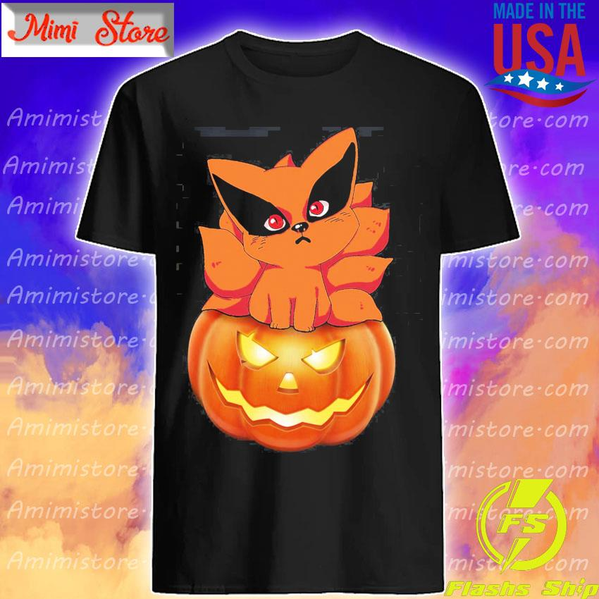 Fox Chibi Pumpkin happy Halloween shirt
