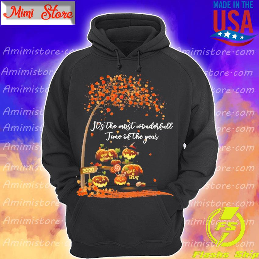 Pumpkin Happy Halloween 2020 It's the most wonderful time of the year s Hoodie