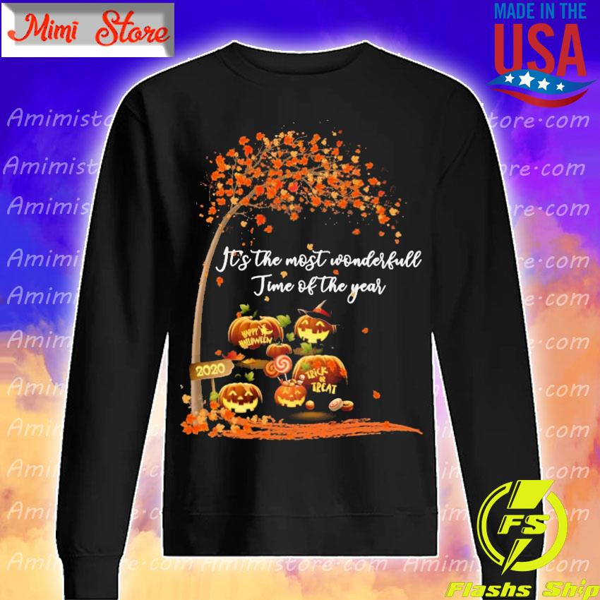 Pumpkin Happy Halloween 2020 It's the most wonderful time of the year s Sweatshirt