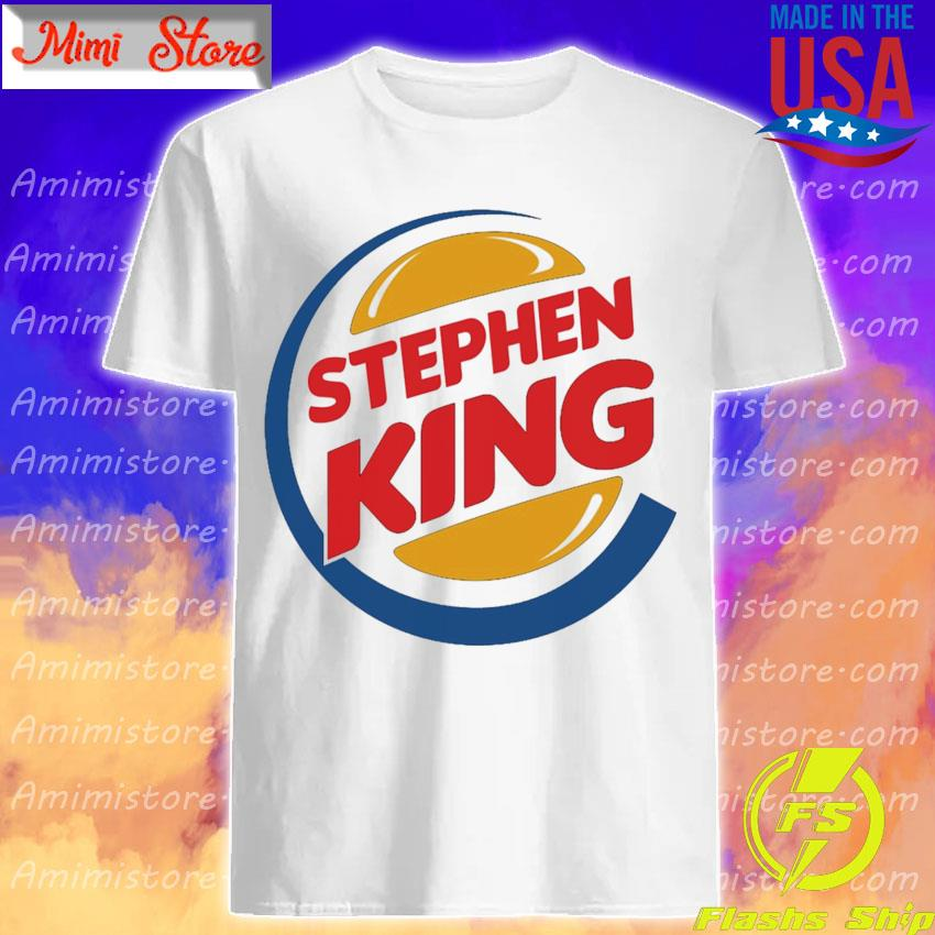 Stephen King Burger King shirt