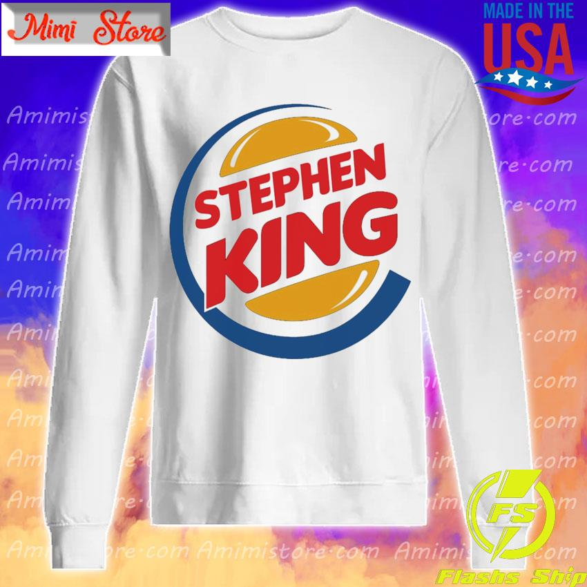 Stephen King Burger King s Sweatshirt