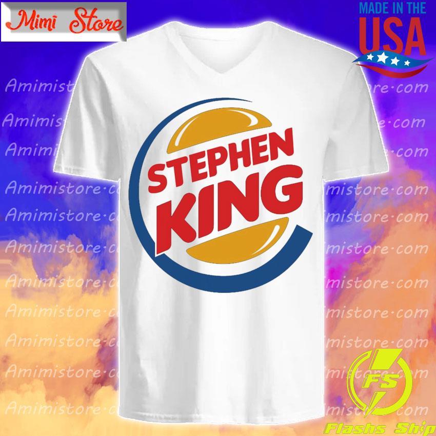 Stephen King Burger King s V-Neck