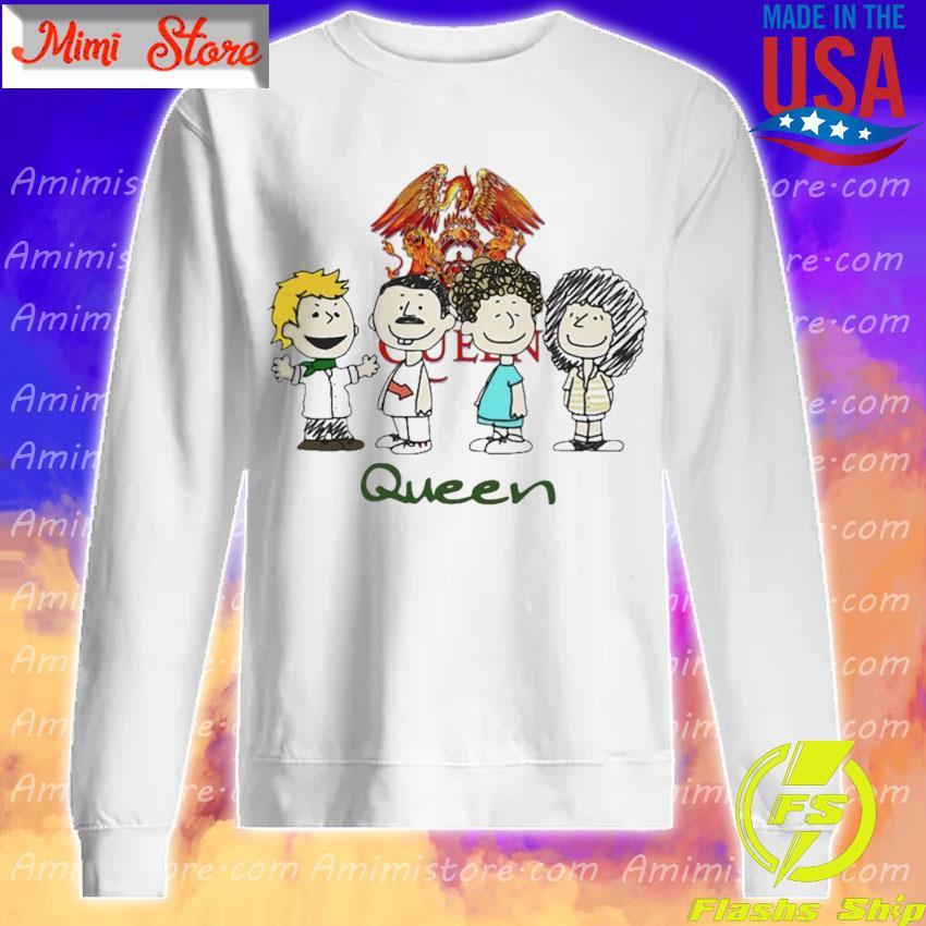 The Peanuts characters Queen s Sweatshirt