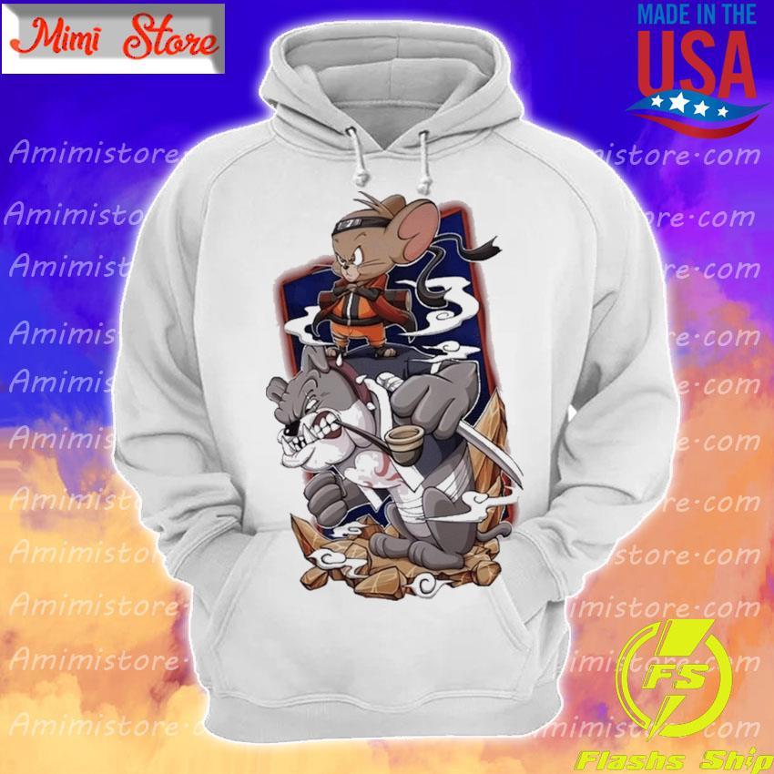 Tom and Jerry Naruto and Kakashi s Hoodie