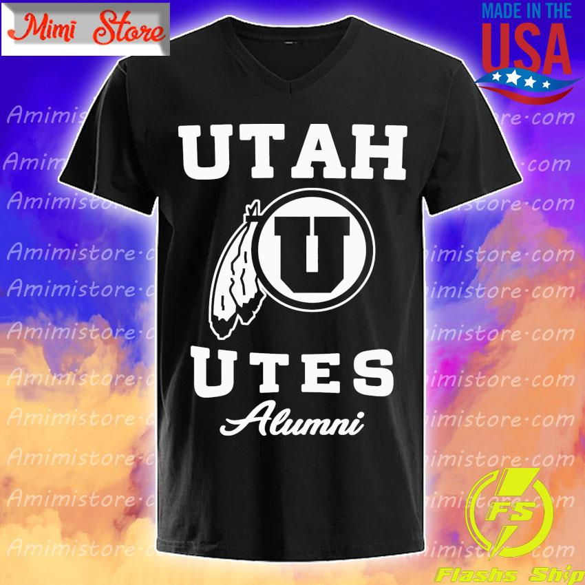 Utah Utes football Alumni s V-Neck
