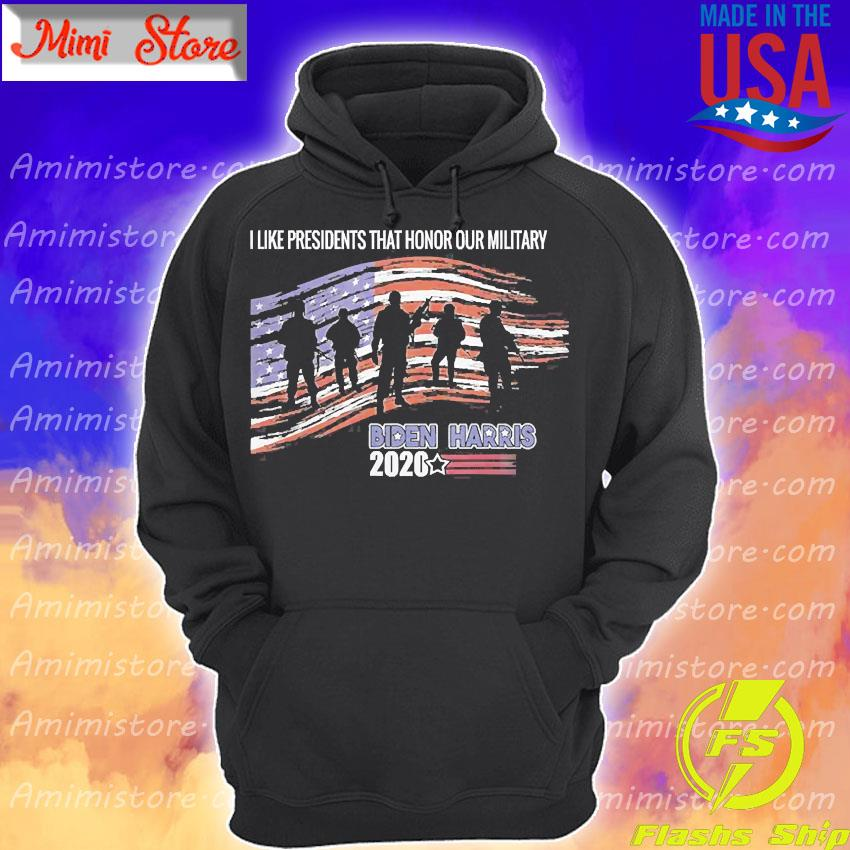 Veterans Against Trump Vote Joe Biden Respect Fallen Soldier Shirt Hoodie