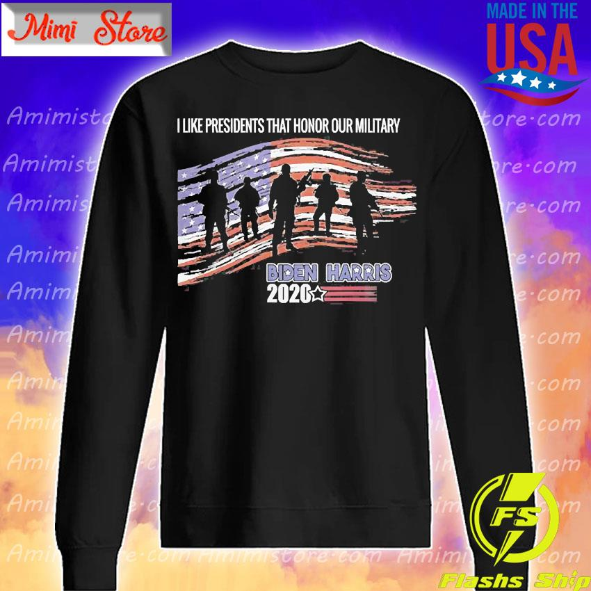 Veterans Against Trump Vote Joe Biden Respect Fallen Soldier Shirt Sweatshirt