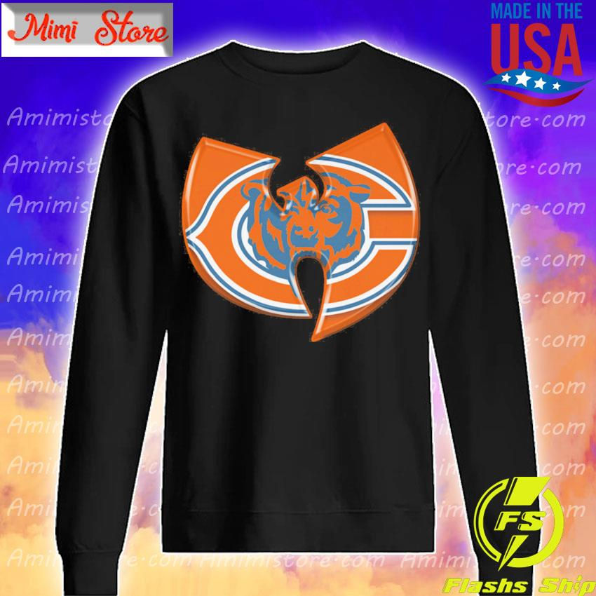 Wu Tang Chicago Bear s Sweatshirt