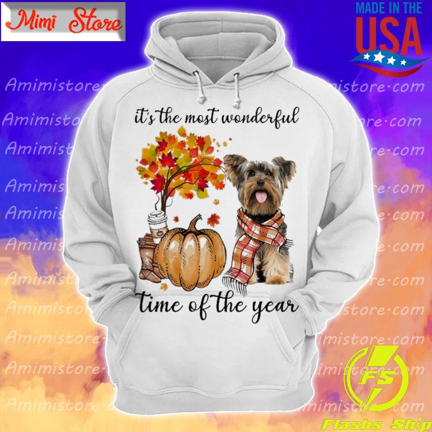 Yorkshire Terrier It's the most wonderful time of the year s Hoodie