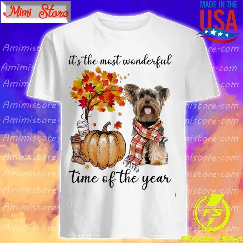 Yorkshire Terrier It's the most wonderful time of the year shirt