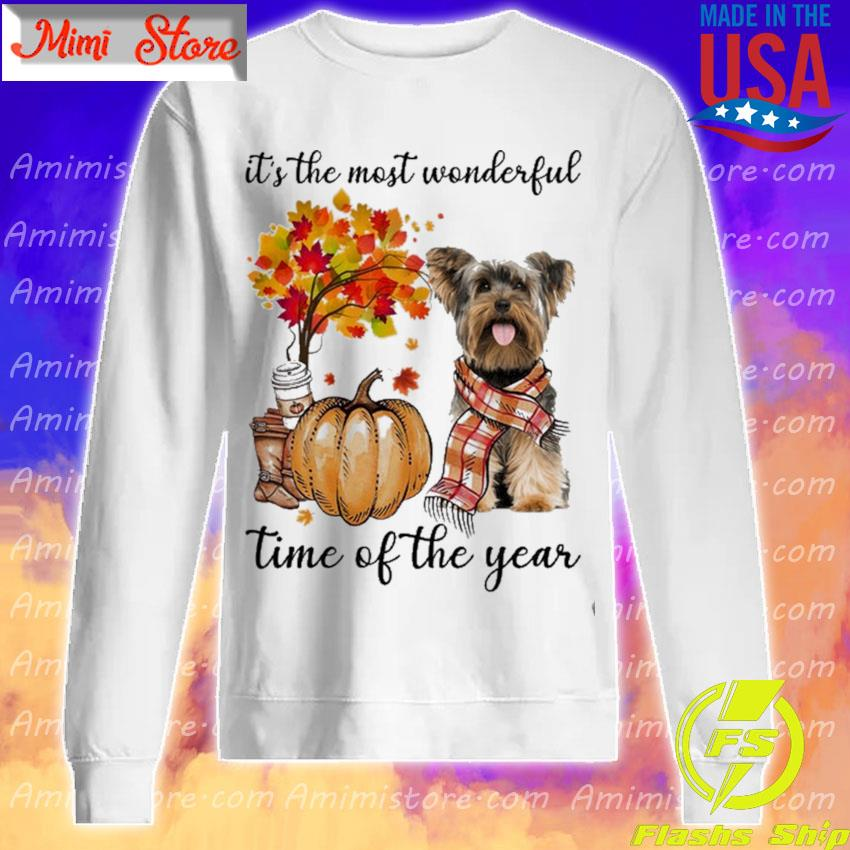 Yorkshire Terrier It's the most wonderful time of the year s Sweatshirt