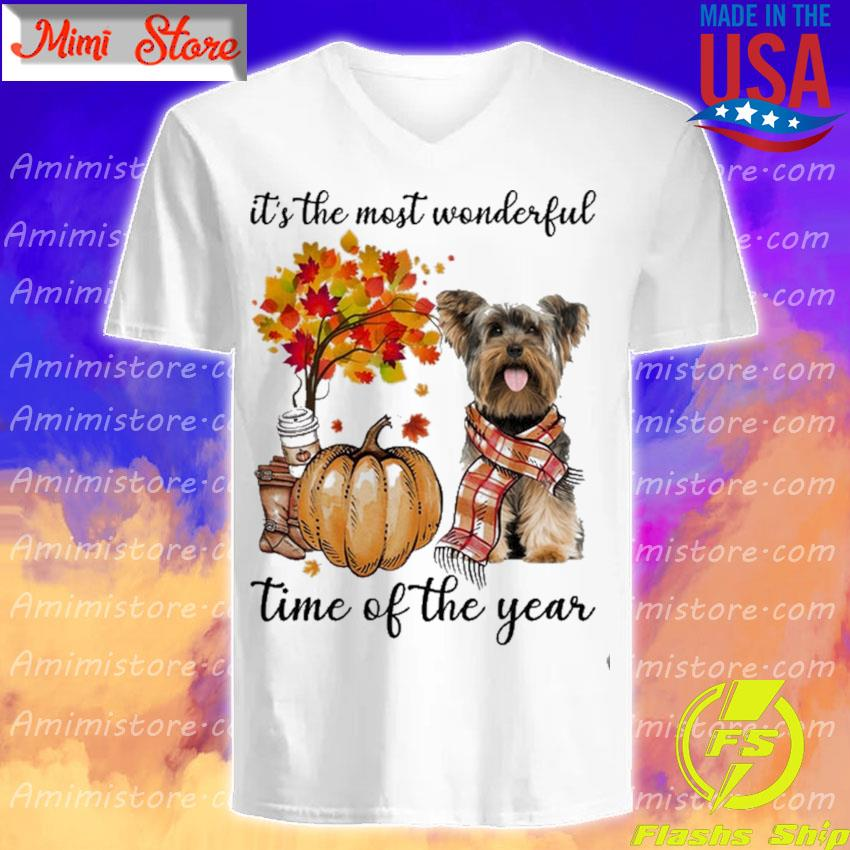 Yorkshire Terrier It's the most wonderful time of the year s V-Neck