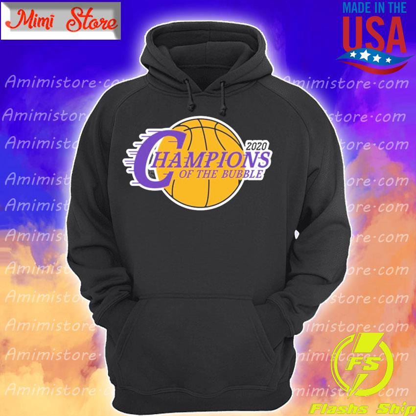 2020 Los Angeles Champions Of The Bubble s Hoodie