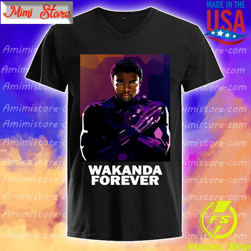 Black Panther Wakanda King forever retro shirt