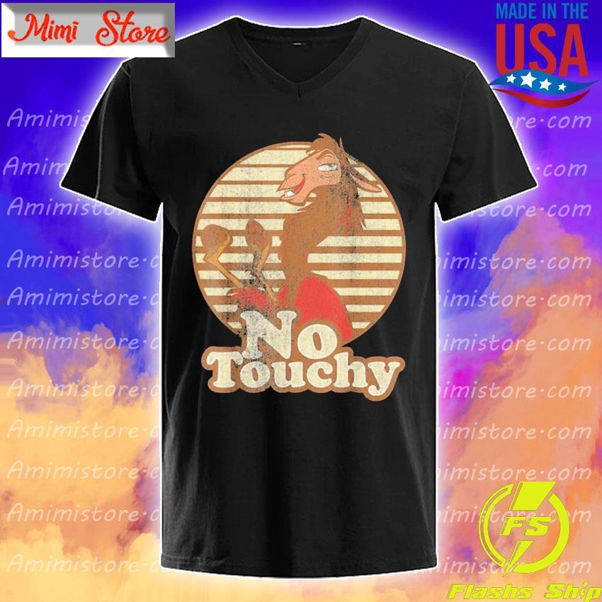 Disney Emperor's New Groove Kuzco Llama No Touchy 2020 shirt