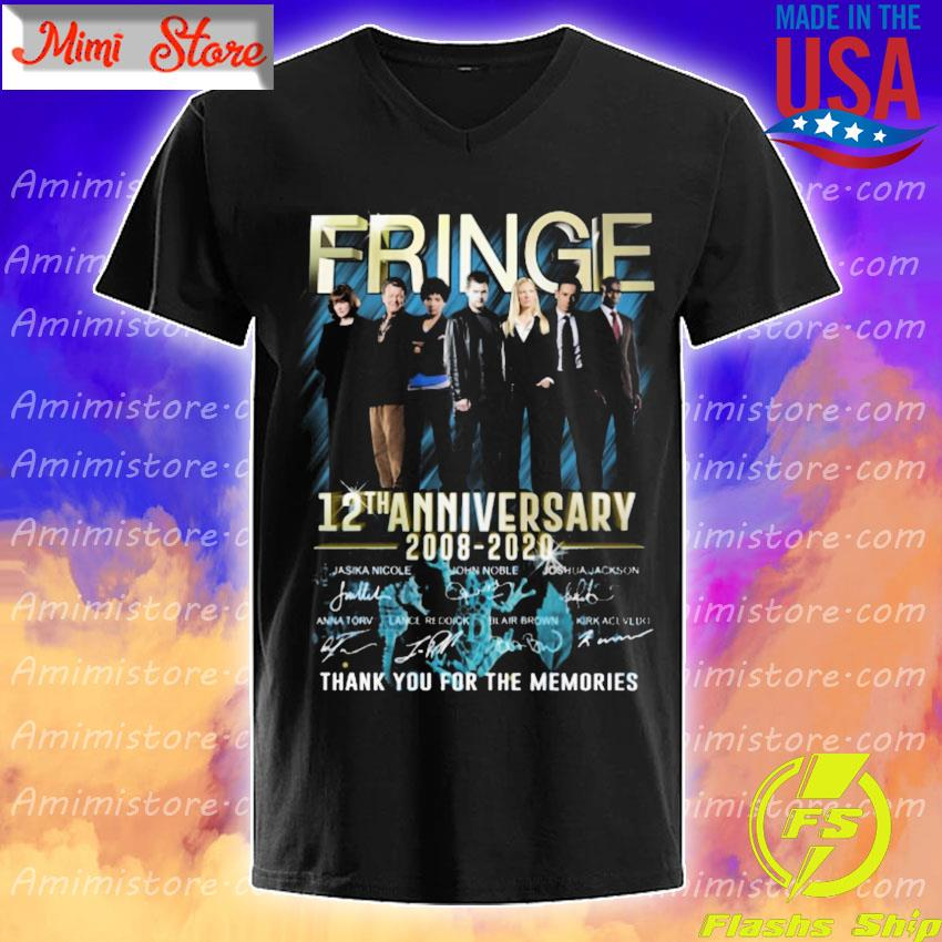 Fringe 12th anniversary 2008 2020 thank you for the memories signatures shirt