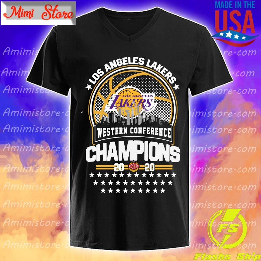 Los Angeles Lakers Western Conference Champions 2020 NBA Finals shirt
