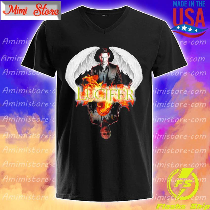 Lucifer Morningstar Slim Fit shirt